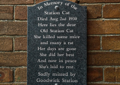 The Resurrection of Fishguard and Goodwick Station (The Return of the Station Cat)
