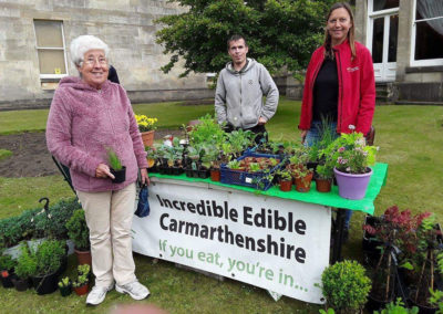 How Incredible Edible Carmarthenshire is transforming unused land in the county and feeding those in need.